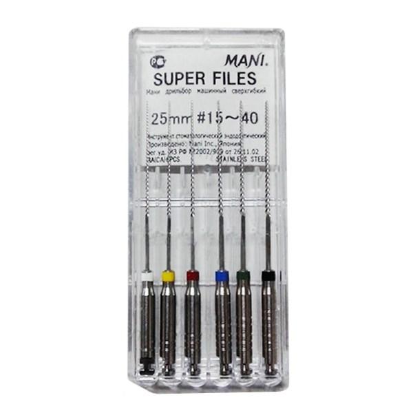 NONG MÁY DẺO SUPER FILES MANI